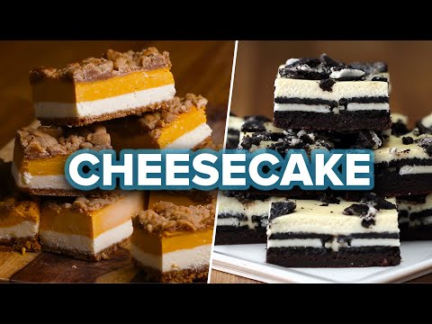 Download Youtube: Cheesecake Bars 4 Ways
