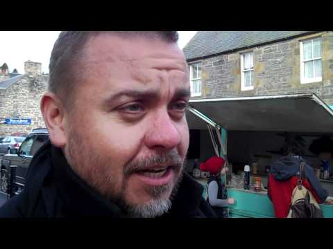 Lee Boardman being ed at Food On Film, Kingussie, Scotland  Part 2