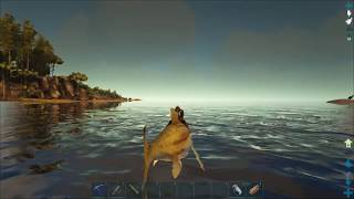 ARK  Survival Evolved (Одиночка) #50   Альфа мозазавр, кальмары и черный жемчуг