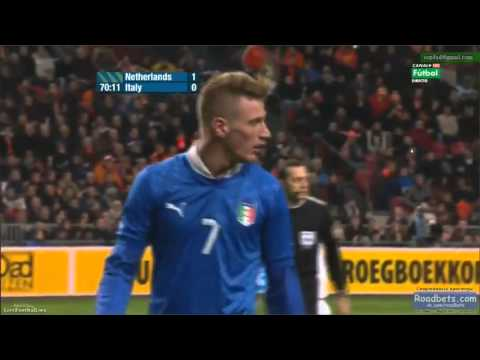 Abate vs Robben ( Holland - Italy )