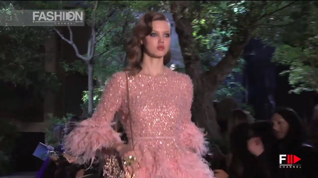 270218034d7 ELIE SAAB Full Show Spring Summer 2015 Haute Couture Paris by Fashion  Channel