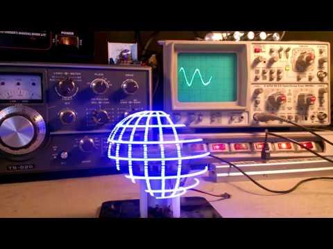 Rotating LED Globe