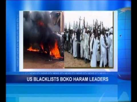 US Blacklists Boko Haram Leaders