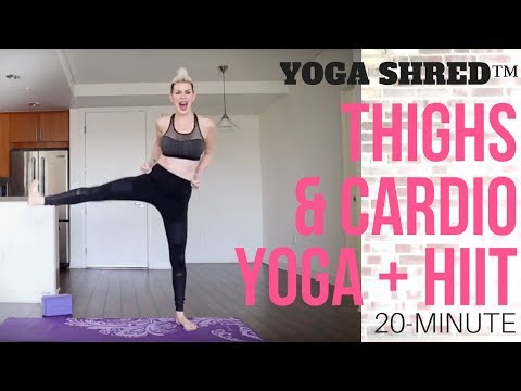 Yoga Shred™ 20-Min Blaster for Thighs & Cardio! HIIT + Yoga Fusion