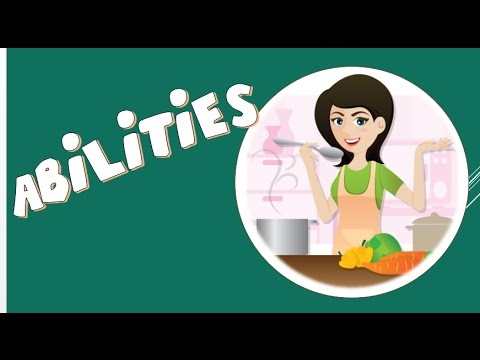 Download Abilities/ Modal Auxiliary Verb  Can - English Language