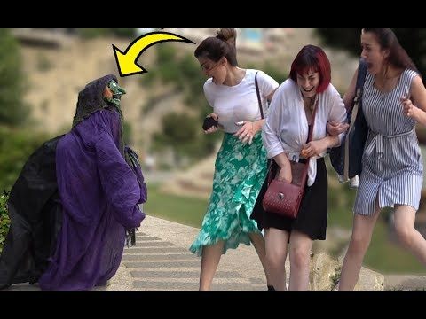 SCARY HALLOWEEN GHOST PRANK #2👻 - Best of Just For Laughs - AWESOME REACTIONS