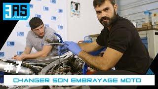 Comment changer son embrayage moto cross - Tuto Moto #7