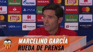 RUEDA DE PRENSA MARCELINO POSTPARTIDO YOUNG BOYS - VALENCIA CF