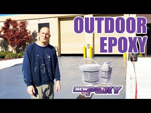 Outdoor Epoxy (UV Friendly)