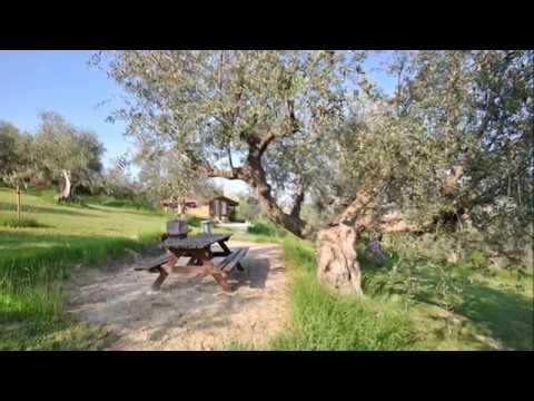 Blokhut te huur op boerderijcamping bij Nederlanders in Abruzzo Italië