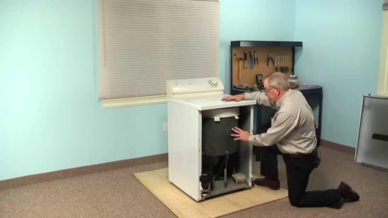 washing machine repair replacing the damper pads whirlpool part