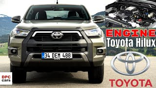 New Toyota Hilux Engine AWD and Suspension Explained