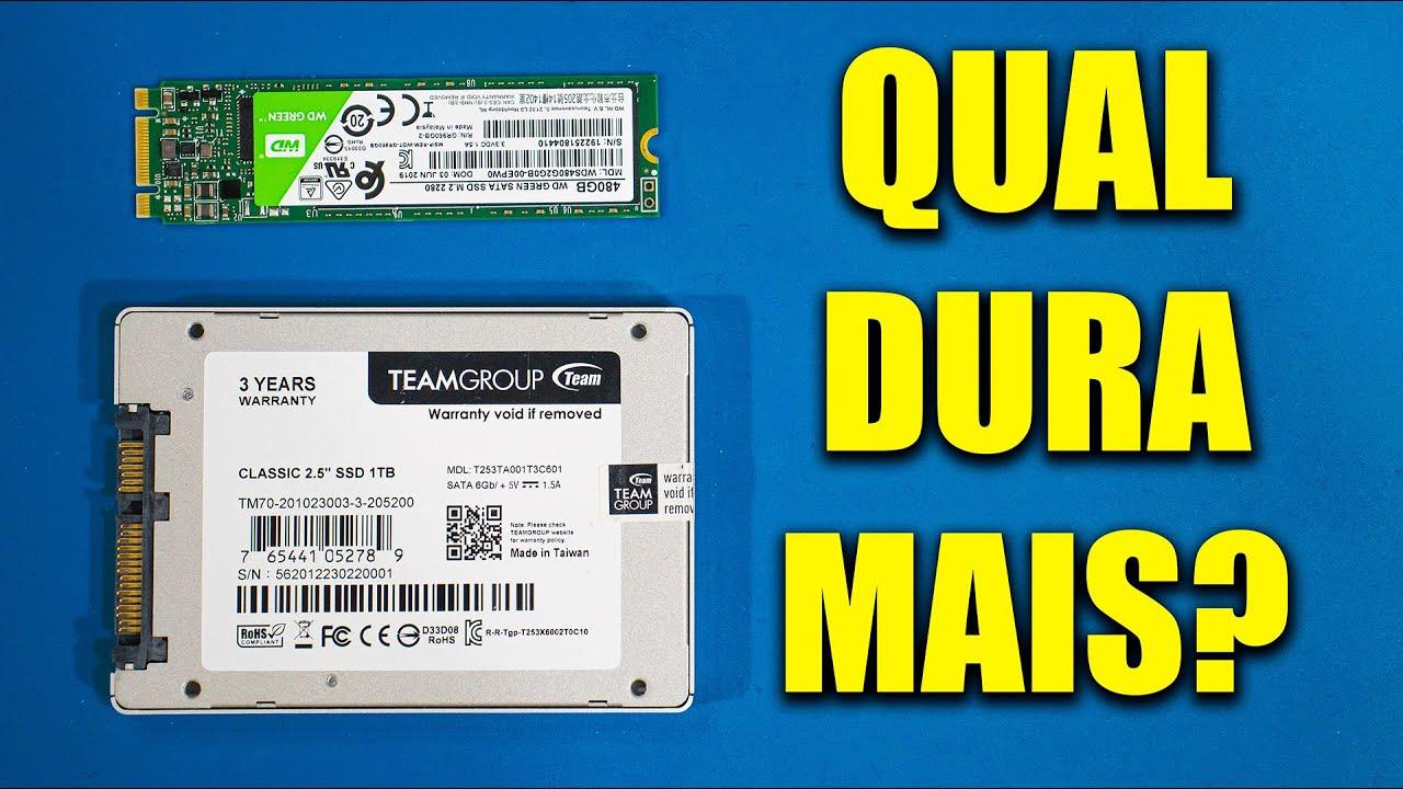 Download QUAL TIPO DE SSD DURA MAIS TEMPO E ESTRAGA MENOS? #MiguelResponde