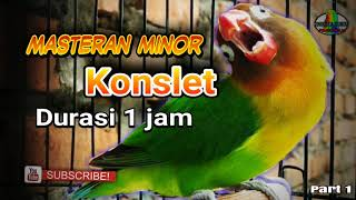 Masteran suara konslet minor part 1