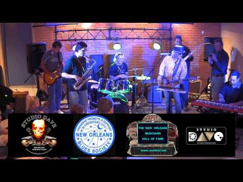 NEW ORLEANS BLUES SOCIETY JAM AT STUDIO DAVE  11/20/16