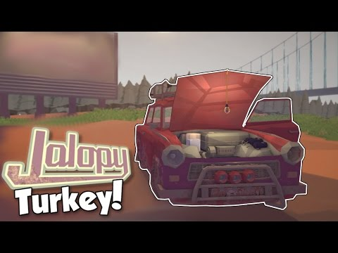 TURKEY UPDATE! - Jalopy [Ep. 14] - Let's play Jalopy Update Gameplay