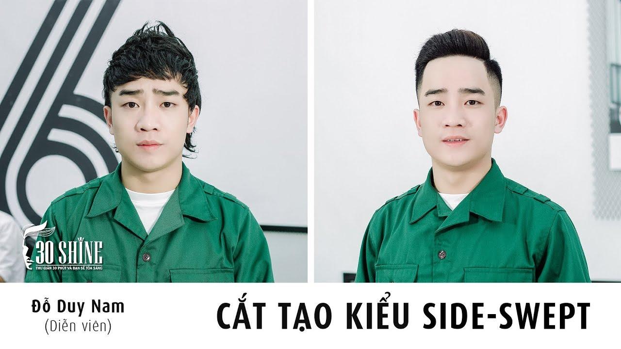 Cắt tạo kiểu Side Swept | Diễn viên Đỗ Duy Nam | MV Ngày Nhập Ngũ ( Mình Cưới Nhau Đi Parody )