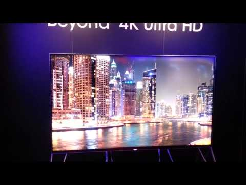 CES 2015: Sharp Beyond 4K UHD TV