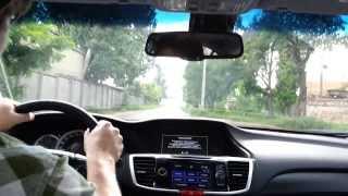 Хонда Аккорд: Honda Accord 2013 - драйв тест
