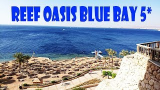 Delightful sea view from hotel Reef Oasis Blue Bay Resort & Spa 5*