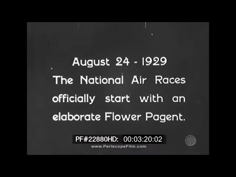 1929 National Air Races Cleveland Radio Club 18fps 22880 HD