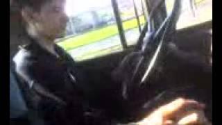 Автоинструктор материт ученика!!! прикол на зиле!!
