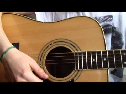 Tuto wonderwall à la guitare pour débutant