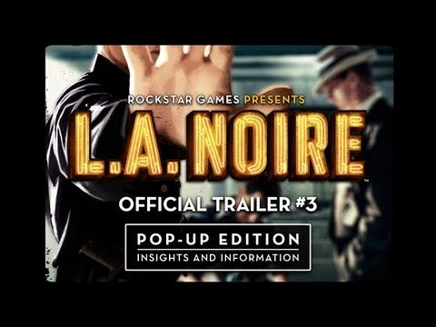 L.A. Noire Trailer 3: Official Annotated Version
