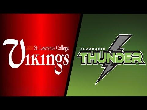 BB SLC Vikings vs. Algonquin College