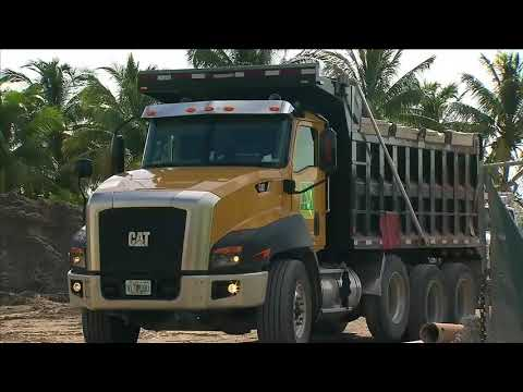 4 face charges after dump trucks stolen at construction yard in Miami Beach