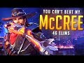 aimbotcalvin - YOU CAN'T BEAT MY MCCREE (46 ELIMS)