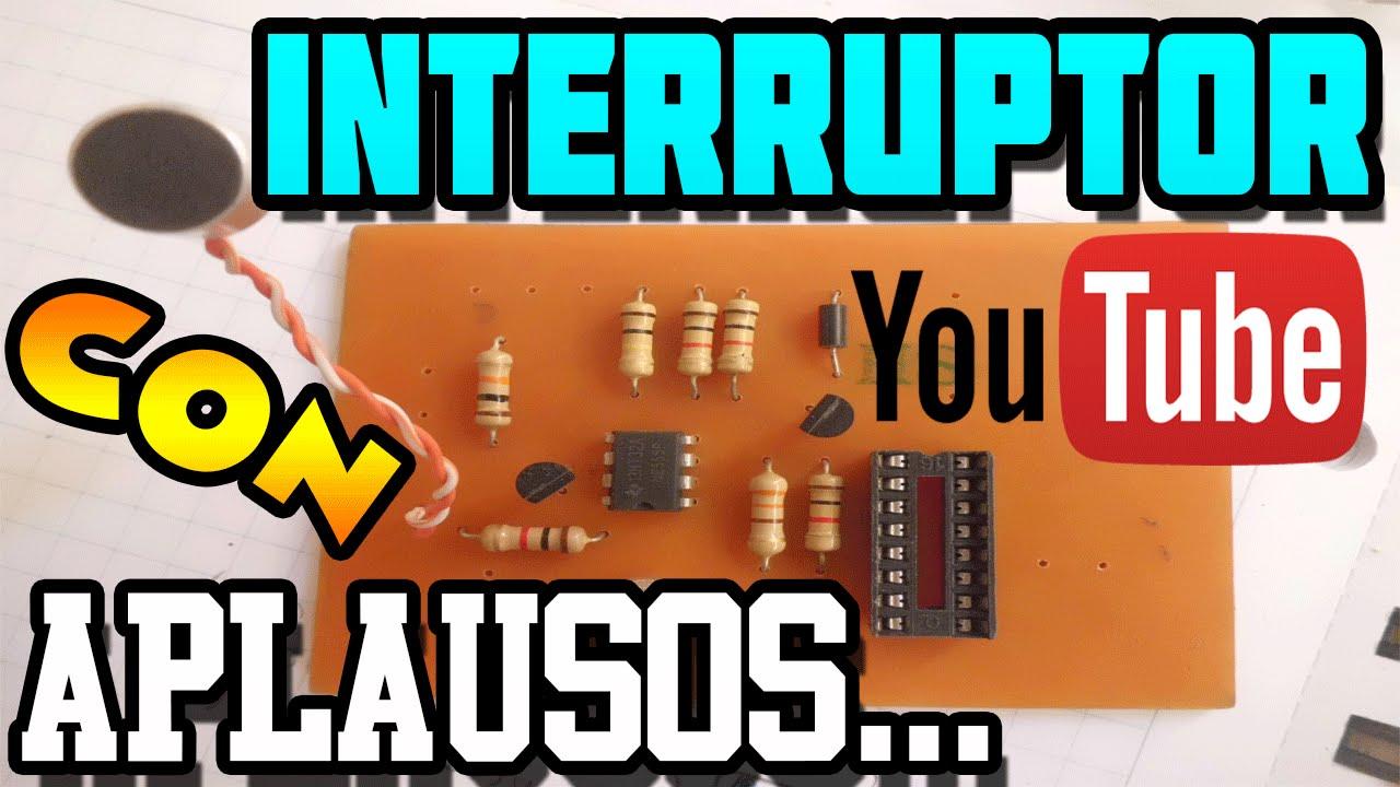 Interruptor con aplausos en baquelita youtube - Lamparas las palmas ...
