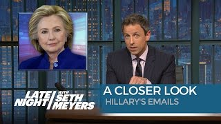 hillary s emails a closer look