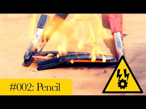 Pencil vs Electricity | Graphite plasma arcs