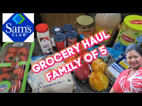 what-$100-will-get-you-!-#groceryhaul-#samsclub-plant-care-making-sardine-sandwiches-#familyvlog