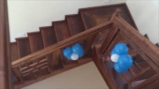 Wooden Stair Case - Kerala Style ( Wooden Steps )
