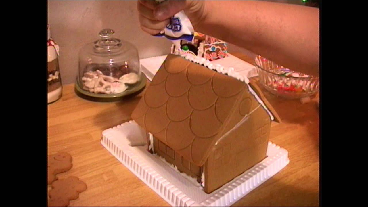 10 quick and easy gingerbread house building tips youtube - Tips for building a new home ...