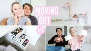 Makeup / Beauty Declutter, NEW Homeware Haul + Alex Is Back! | Moving Vlog 7