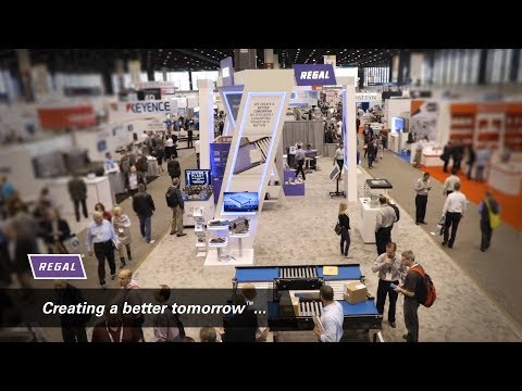Solutions For Unit Material Handling From Regal: Pack Expo 2018
