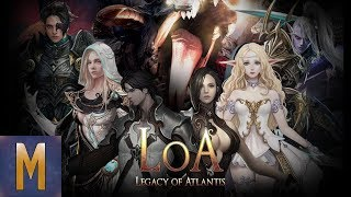 EXCITING NEW ACTION RPG! Legacy of Atlantis (Android & iOS 2018)