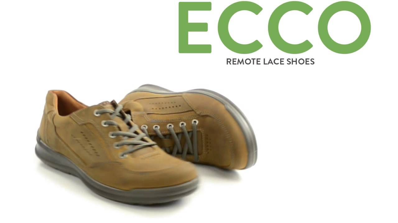 ECCO Remote Lace Shoes (For Men) - YouTube