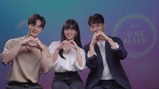 EXCLUSIVE QampA with Lead Cast of Netflix K-Drama 39Love Alarm39