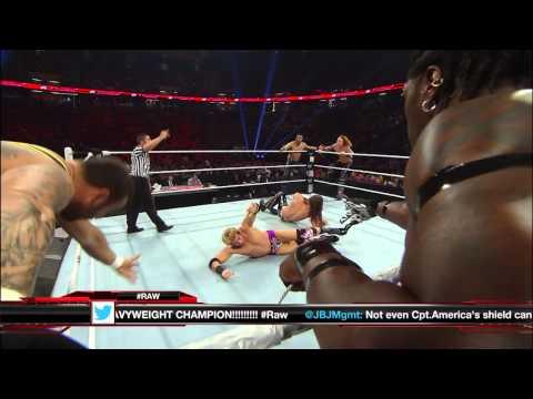 R-Truth, Santino Marella & Zack Ryder vs. 3MB: Raw, April 8, 2013