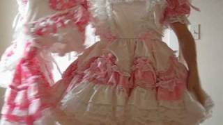 Sissy Gets a new Pink Dress