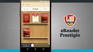 eReader Prestigio Android App Demo - State of Tech