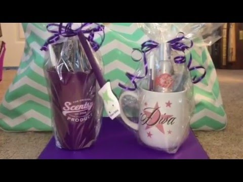 Scentsy hostess gift example and door prize