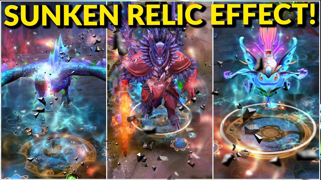 Image result for sunken relic effect