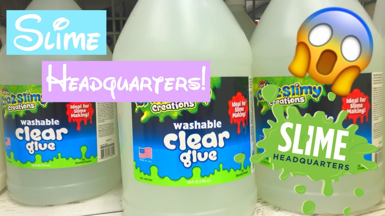 Updated slime headquarters gallon of clear glue youtube updated slime headquarters gallon of clear glue ccuart Gallery