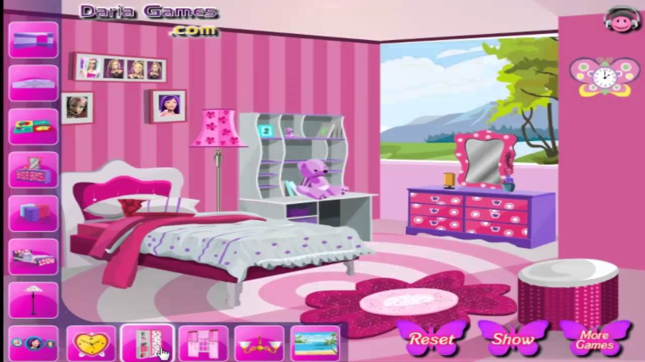 Decorate Barbie S Bedroom Games For Kids 1 Youtube