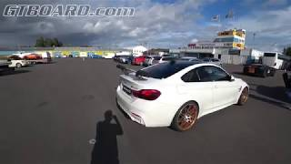 [4k wideangle] Alpine White BMW M4 GTS European specification Timeattacknu.se Time Attack Festival